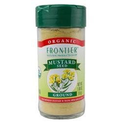 Frontier Herb 28450 Ground Yellow Mustard Seed