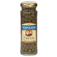 Napoleon Nonpareil Capers Jars (12x12/3.5 Oz)
