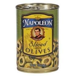 Napolean Fireplaces Napoleon B62546 Napoleon Sliced Green Olives -12x7oz