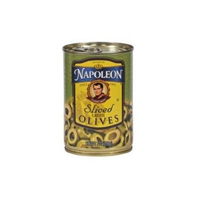 Napolean Fireplaces Napoleon B62546 Napoleon Sliced Green Olives -12x7oz