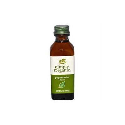 Simply Organic Peppermint Flavor - 2 fl oz