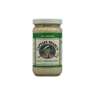 Captain Toady S Captain Toady's Tarter Sauce w/Dill (12x8 Oz)