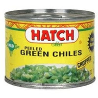 Hatch Farms Peeled Chopped Green Chiles Mild (24x4 OZ)