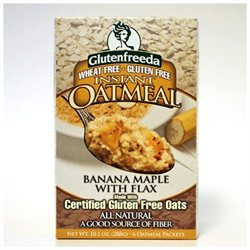Glutenfreeda Instant Oatmeal Banana Maple - 6 Packages