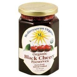 Mediterranean Organics 24633 Organic Black Cherry Preserves