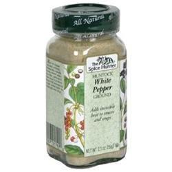 Sylvia's Sylvias B06353 Spice Hunter Ground White Pepper - 6x2.1Oz