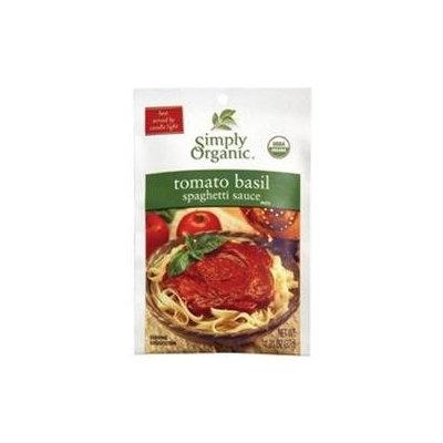 Simply Organic Tomato Basil Spaghetti Sauce (12x12/1.31 Oz)