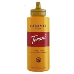 Torani Original Caramel Mocha Sauce, 16.5 oz, 6pk