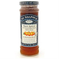 St. Dalfour All Natural Fruit Spread Apricot - 10 oz