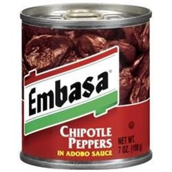 Embasa Chipotle Peppers in Adobo Sauce 12 oz