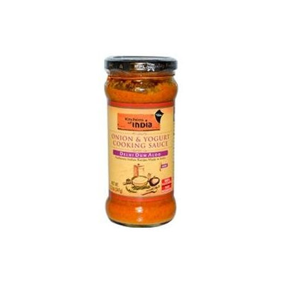 Kitchens Of India B25233 Kitchens Of India Onion & Yogurt Cooking Sauce -6x12.2oz