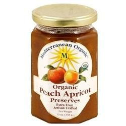 Mediterranean Organics 24634 Organic Peach Apricot Preserves