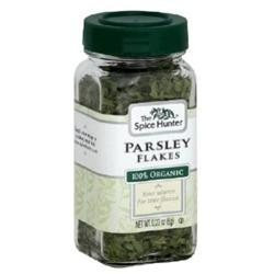 The Spice Hunter Parsley Flakes, Organic, 0.23 oz Jars, 6 pk