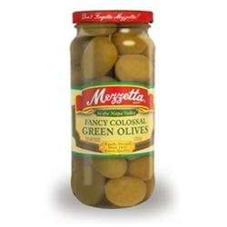 Mezzetta B76745 Mezzetta Fancy Colossal Green Olives -6x10oz