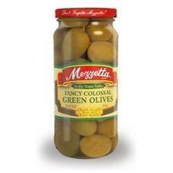 Mezzetta B76745 Mezzetta Fancy Colossal Green Olives -6x10oz