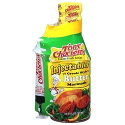 Tony Chachere's Tony Chacheres 89823 Tony Chacheres Creole Style Butter Marinade- 6x17 OZ