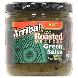 Arriba! BG10414 Arriba! Hot Green Salsa - 6x16OZ