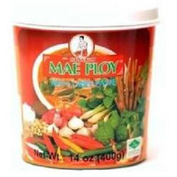 Mae Ploy BG15444 Mae Ploy Red Curry Paste - 24x14OZ