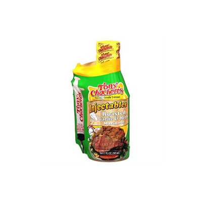 Tony Chachere's Marinade Roasted Garlic & Herb W/ Injector, 17 oz