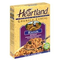 Heartland Brands B75225 Heartland Brands Granola With Raisins -6x16 Oz