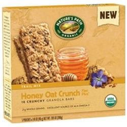 Nature's Path Honey Oat Crunch Granola Bars, 5 ct