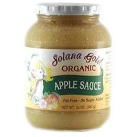 Solana Gold & Apple Solana Gold Organics BG18295 Solana Gold Organics Apple Sauce - 12x24OZ