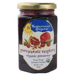 Mediterranean Organics 24314 Organic Pomegranate Raspberry Preserves