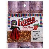 Fiesta Brand Crushed Red Pepper (12x12/1.5 Oz)