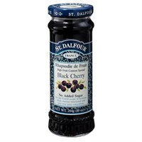 St. Dalfour All Natural Fruit Spread Black Cherry - 10 oz