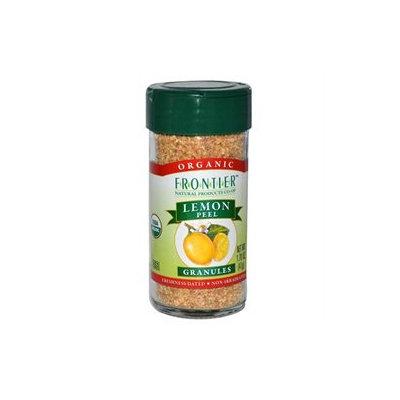 Frontier Natural Products - Lemon Peel Granules Organic - 1.7 oz.