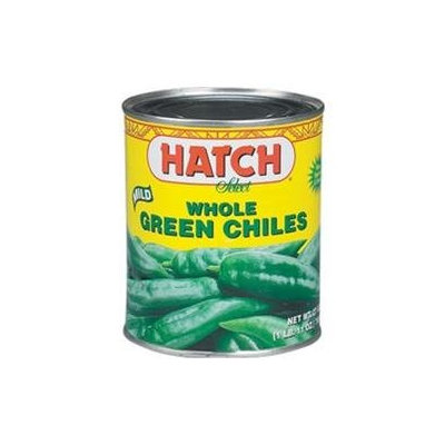 Hatch Farms Inc. B64805 Hatch Mild Whole Green Chiles -12x4oz