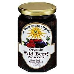 Mediterranean Organics 24632 Organic Wild Berry Preserves