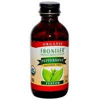 Frontier Peppermint Flavor Certified Organic 2 Fl. Oz. Bottle