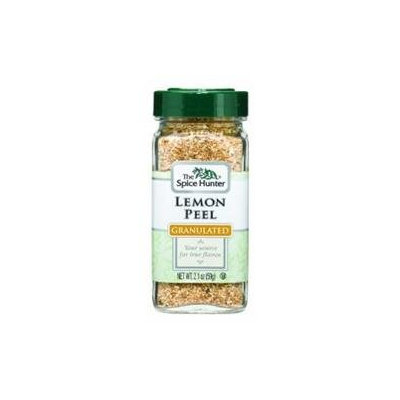 Spice Hunter B06356 Spice Hunter Lemon Peel Granulated -6x2.1oz