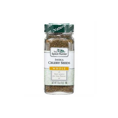 The Spice Hunter Celery Seeds, India, Whole (6x6/1.8 Oz)