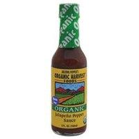 Organic Harvest B22838 Arizona Peppers Jalapeno Pepper Sauce -12x5 Oz
