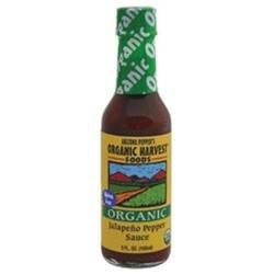 Organic Harvest B22838 Arizona Peppers Jalapeno Pepper Sauce -12x5 Oz