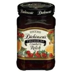 Dickinsons Dickinson's Premium Relish Cranberry - 9.6 oz