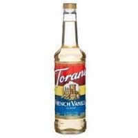Torani BG19090 Torani French Van Cof Syr - 12x25.35OZ