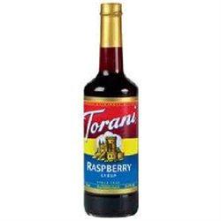 Torani BG19096 Torani Raspberry Cof Syr - 12x25.35OZ