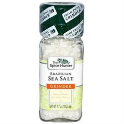 The Spice Hunter Brazilian Sea Salt Grinder - 6 pk.