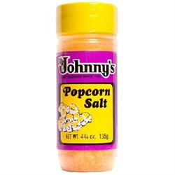 Johnny's Johnnys BG14622 Johnnys Popcorn Salt - 6x4.75OZ