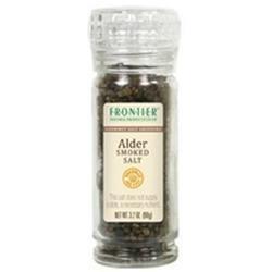 Frontier Natural Products - Gourmet Salt Grinder Alder Smoked Salt - 3.2 oz.