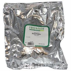 Frontier Natural Products - Black Pepper Coarse Grind - 1 lb.
