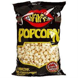 Yayas Outrageous Food BG19837 Yayas Outrageous Food Popcorn with Salt - 12x7OZ