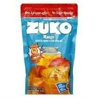 Zuko Instant Powder Drink - Mango - 12 Pouches (14.1 oz ea)
