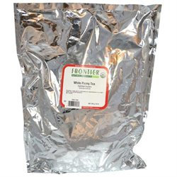 Frontier Natural Products - Bulk White Peony Tea Organic - 1 lb.