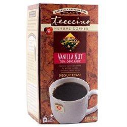 Teeccino Caffeine-Free Herbal Coffee, Vanilla Nut, 25 ct Tea Bags, 2