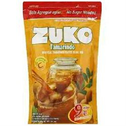 Zuko Instant Powder Drink - Tamarindo - 12 Pouches (14.1 oz ea)