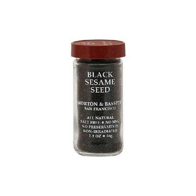 Morton & Bassett Morton and Bassett Spices Black Sesame Seed, 2.3 oz, - Pack of 3
